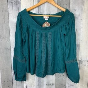Band of Gypsies NWT Off the Shoulder Top